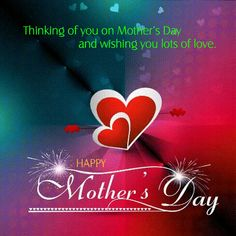 Share and send this ecard on Mother's Day. Free online Thinking Of You On Mother's Day ecards on Mother's Day Happy Mothers Day Pictures, Happy Mothers Day Messages, Mother Day Message, Mother Day Wishes, Happy Mother S Day, Mothers Day Cards, Birthday Messages For Sister, Birthday Wishes Gif, Big Hugs For You