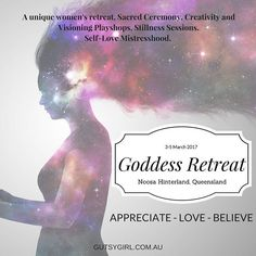 Who wants to join me for an extra special unmissable sisterhood weekend?  I've designed a series of experiences which will nourish restore strengthen & empower you to stimulate all your senses for a weekend unlike any other. Noosa Hinterland 3-5 March 2017.  Payment plans available.  Limited spots so best to register early to avoid disappointment.  http://ift.tt/2dZF2NP