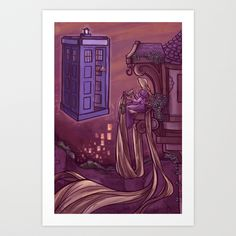You Comin' Blondie? Rapunzel and the Doctor
