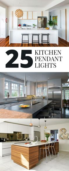 Kitchen pendant lights • Ideas on how you can come up with these designs.