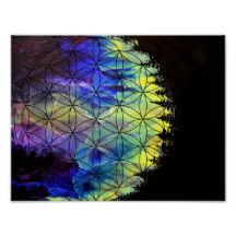 Night Colors II Poster Cosmic Art, Age, Night, Colors, Illustration, Artwork, Poster, Gifts, Inspiration