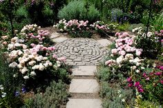 Mottisfont Abbey & Gardens by Mark Wordy, via Flickr