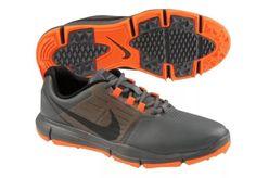1f4694b53c2 Nike Explorer Ctrl Mens Golf Shoes 704694-005 Gray Orange Size 11.5  Nike  Nike