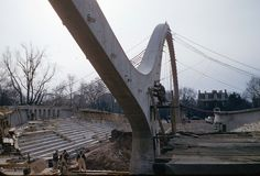 construction of Ingalls Rink, New Haven, CT