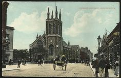 Greenwich. Christ Church c. 1907.
