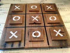Large Tic Tac Toe Game Set made from Pallet Wood by JMPalletDesign, $45.00