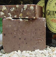 Oatmeal and Stout Soap Bar with Shea Butter Made with Guinness Extra Stout Beer by Natural Handcrafted Soap LLC, http://www.amazon.com/dp/B004AM7Z7U/ref=cm_sw_r_pi_dp_x4SPrb1RDGK2B