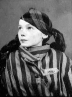 "Czeslawa Kwoka, a Polish child killed in Auschwitz.  The Nazi soldier would kill children with phenol injections.  The child was place on a stool, blindfolded with a towel, then injected in the chest with a needle.  They wouldn't wait for the child to die; instead they threw the child into the next room to die in agony within a few minutes.  Then another child would take the stool.  ""Those who do not remember the past are condemned to repeat it."" - George Santayana"