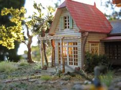 Amazing papercraft Totoro house has 1,800 roof tiles [Gallery]