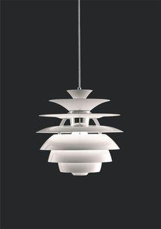 Wohl eine der bekanntesten Designerlampen ist der Poul Henningsen Snowball. 100% blendfreis Licht