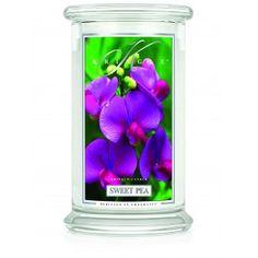 Kringle Candles - Sweet Pea - Large 2 Wick Classic Jar
