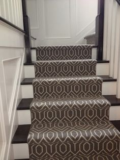 Bloomsburg Design Ideas, Pictures, Remodel, And Décor. Modern Carpet Stair  Runner.
