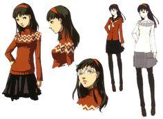 Shigenori Soejima - Persona 4 - Yukiko Amagi Concepts