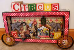 I absolutely love this. Art Journal: A Storybook Circus 2014.