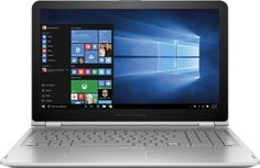 """HP - ENVY x360 2-in-1 15.6"""" Touch-Screen Laptop - Intel Core i5 - 8GB Memory - 1TB Hard Drive - Natural Silver"""