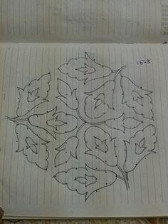 Indian Rangoli Designs, Simple Rangoli Designs Images, Rangoli Designs Latest, Rangoli Border Designs, Small Rangoli Design, Rangoli Ideas, Rangoli Designs With Dots, Rangoli With Dots, Beautiful Rangoli Designs