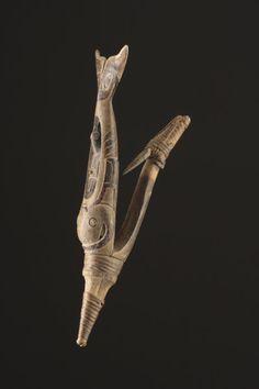 Finch & Co - Carved Wood Northwest Coast Tlingit Halibut Hook Halibut Fishing, American Spirit, Native American, Tlingit, Magic Forest, Indigenous Art, Asia, Native Art, First Nations