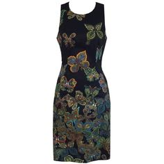 Butterfly Bodycon Dress from Single Dress (2 975 ZAR) via Polyvore featuring dresses, butterfly print dress, monarch butterfly dress, body con dress, bodycon cocktail dress and butterfly dress