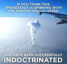 Smoke stacks vs EARTH spin