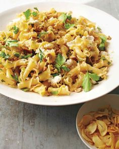 Campanelle with Walnuts, Ricotta, and Lemon