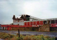 Demolition in progress at Bradford Park Avenue in 1980.  Pic Keith Longbottom