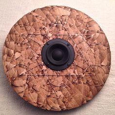 #Geometry #speaker #wooden #sacred #design