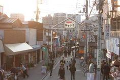東京・谷中の谷中銀座入口