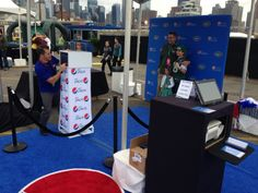 Pepsi Step & Repeat Photo Station Production at NYC Wine & Food Festival 2013!