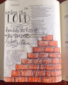 """""""Psalm 127:1. Been thinking about this a lot lately, partly because we're remodeling our house and I love the symbolism.  What have I been holding back…"""""""