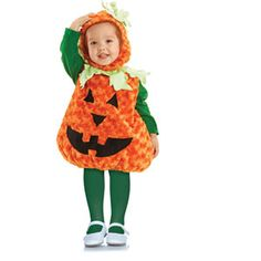 Pumpkin Costume Toddler 2T-4T