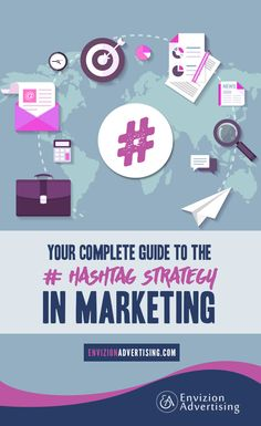 Hashtags are a quick way to create a link BUT how do you know which ones to use? http://www.envizionadvertising.com/social-media/hashtag-marketing-strategy-for-your-business/