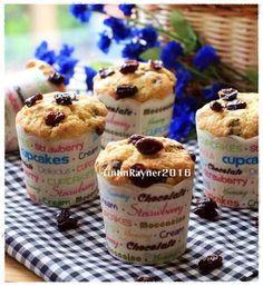 Morning Glory Milk Muffin mudah cepat