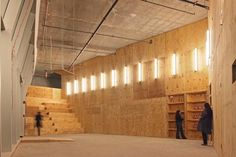 Berlin architects nOffice designed Performa Hub, a venue for the Performa 09 biennial held in New York.