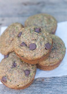 Zucchini Banana Bran Muffins | Sweet Treats and More