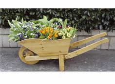 Ordinaire Wooden Wheelbarrow Planter. Wooden WheelbarrowWooden GardenGarden  AccessoriesGarden ...