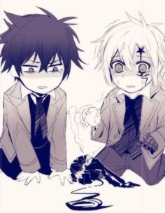 Neah and Allen cry over timcampy.my poor beans!