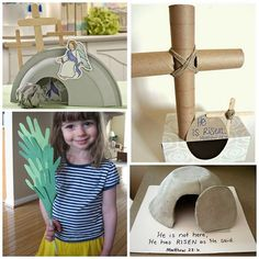 Sunday School Easter Crafts for Kids to Make - Crafty Morning