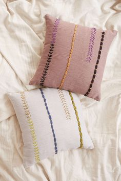 Urban Outfitters pillow - I could get a plain pillow case and DIY that!