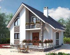 Одноклассники Modern House Floor Plans, Sims House Plans, Architectural Design House Plans, Architecture Design, Architecture Colleges, Architectural Digest, Small Cottage House Plans, 2 Storey House Design, Beautiful House Plans