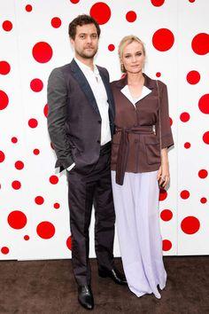 Diane and Joshua in Louis Vuitton