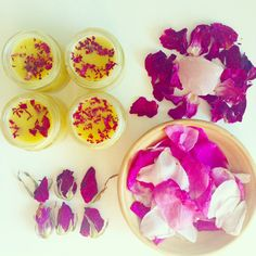 Diy rose balms offered in my etsy shop