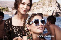 c7a685e64754 Dolce and Gabbana Eyewear Campaign S S 2013 Бьянка Балти, Подиумная Мода,  Модные