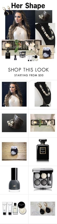 """Her Shape"" by varivodamar ❤ liked on Polyvore featuring Chanel, Bobbi Brown Cosmetics and modern"