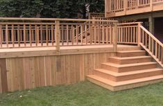 box steps for deck - Google Search
