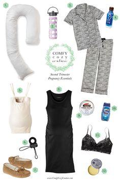 Second Trimester Essentials | Comfy Cozy Couture