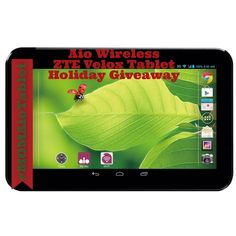 Aio Wireless ZTE Velox Tablet Holiday Giveaway
