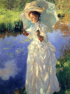 A Morning Walk - John Singer Sargent (1888)