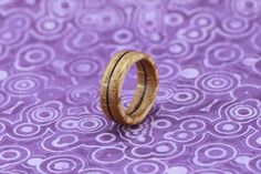 Oak ring - wooden ring   material: oak wood and veneer