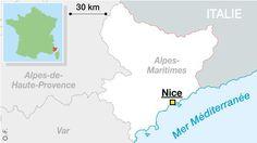Une jeune femme a été admise  au CHU Pasteur à Nice. Sans pouvoir préciser si elle était grièvement blessée ou non, ni sa nationalité.