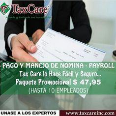 Payroll - Tax Care Orlando